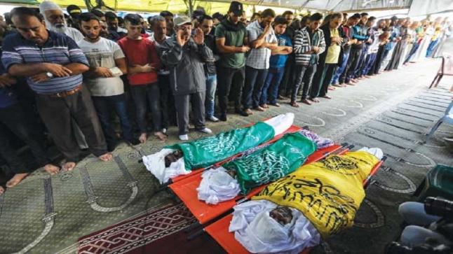 غزة تحت نيران الاحتلال.. والمقاومة تقصف المستوطنات بـ 360 صاروخا