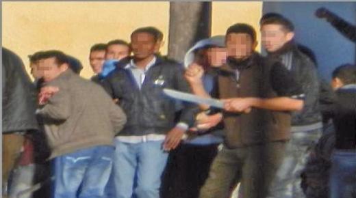 مكناس : اعتقال طلبة جامعيين حضرو لأعمال اجرامية وبحوزتهم أسلحة بيضاء
