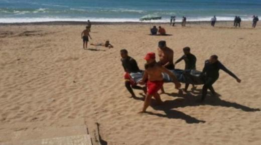 التحقيق في غرق سيدة بشاطئ في آشتوكة