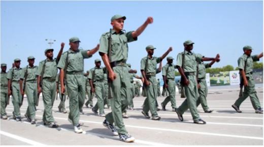 الحامية العسكرية لاكادير تستقبل اليوم الفوج الاول من المرشحين للخدمة العسكرية