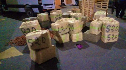 حجز 13 طنا من مخدر الشيرا وتوقيف شخص للاشتباه في تورطه في هذا النشاط الإجرامي بضواحي الدار البيضاء