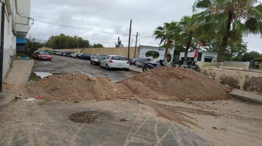 """حالة الطوارئ """" تغلق """" مداخل بنسركاو في أكادير"""