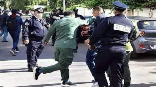 رجل سلطة يصفع ممرضا في وقفة احتجاجية بالرباط