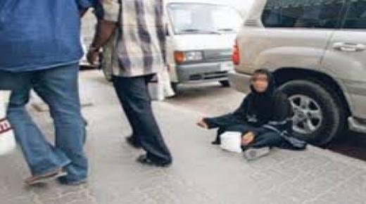 البوليس يعتقل متسولتين بأيت ملول احداهما صاحبة سيارة فارهة