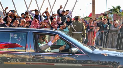 جهة سوس -ماسة .. جلالة الملك يعطي دفعة قوية لبرامج المبادرة الوطنية للتنمية البشرية، التي تعطي الأولوية للشباب