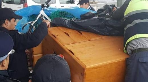 أمن ميناء طنجة يحبط محاولة تهريب شحنات كبير من المخدرات إلى المغرب