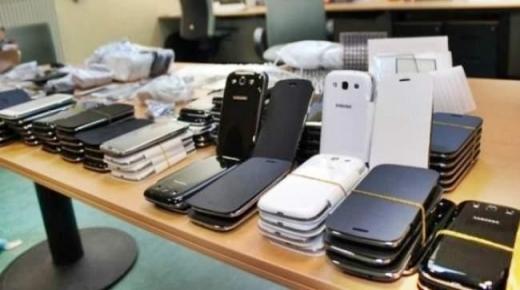 جمارك ميناء طنجة يحبط عملية تهريب هواتف تفوق 5 ملايين درهم
