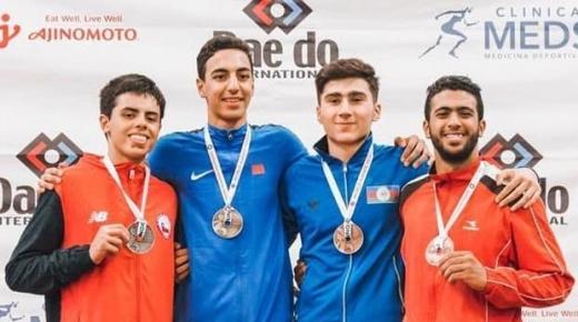 الكراطي المغربي يتألق بشكل لافت في بطولة العالم بالشيلي