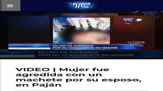 الصور المخيفة المتداولة على مواقع التواصل الإجتماعي تعود لجريمة وقعت بدولة الإكوادور