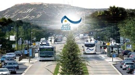 انطلاق مشروع حافلات عالية الجودة BHNS بأكادير