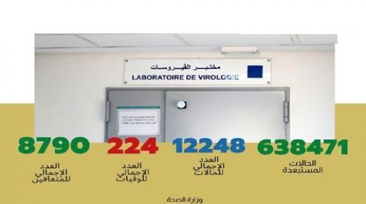 فيروس كورونا.. تسجيل 196 حالة مؤكدة جديدة بالمغرب ترفع العدد الإجمالي إلى 12 ألفا و248 حالة