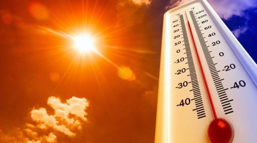 طقس حار بعدد من مناطق المملكة إلى بعد غد الاثنين وزخات رعدية