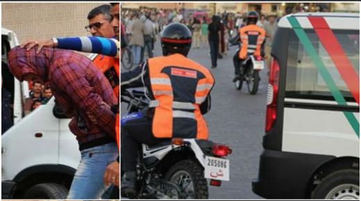 حملة أمنية بحي الشراردة أولاد تايمة تسفر عن توقيف عدد من المتورطين في جرائم وجنح مختلفة