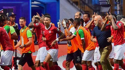 التأهل الرسمي لفريق مدغشقر بعد فوزه على نيجيريا بهدفين نظيفين