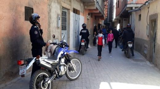 اكادير:فرقة الدراجين تضع حدا لعصابة اجرامية متخصصة في السرقة بالعنف