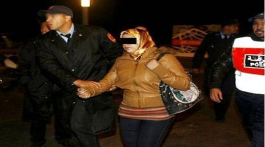 السكر العلني وعدم الإمتثال يؤديان لإعتقال سيدة بتزنيت