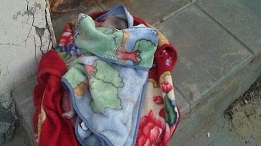 العثور على رضيع حديث الولادة قرب مستشفى انزكان.
