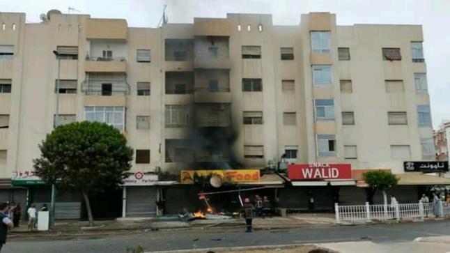 """إنفجار يهز محلا ل """" المأكولات السريعة """" في أكادير"""