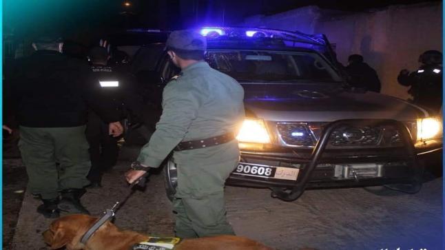 الفرقة الوطنية للدرك تحجز متفجرات خطيرة بميدلت