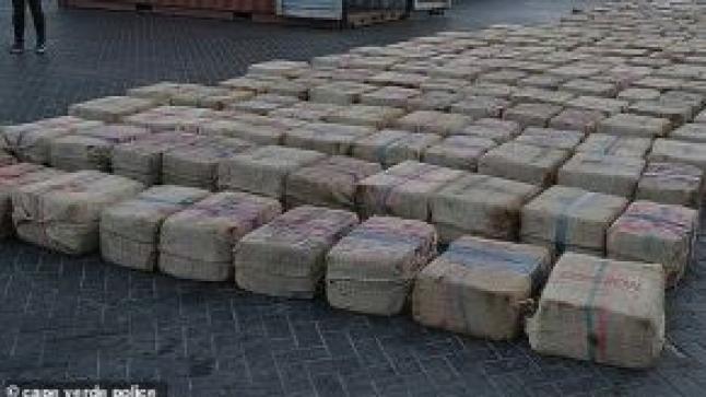 حجز 695 كيلوغراما من مخدر الشيرا وتوقيف سبعة أشخاص