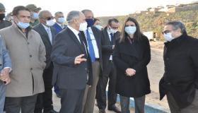 سيدي إفني: عامل الإقليم يستقبل السيدة وزيرة السياحة والصناعة التقليدية والنقل الجوي والاقتصاد الاجتماعي