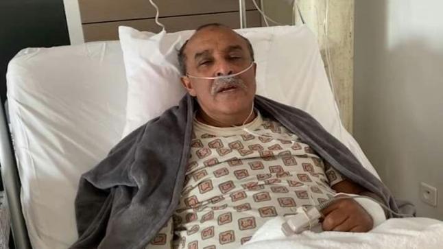 الفنان سعيد الناصيري يصارع الموت بسبب إصابته بكورونا