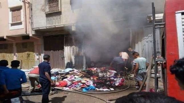 النيران تلتهم شخصين بأولاد تايمة وترسل شخصا آخر للمستعجلات