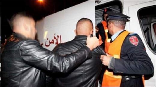 توقيف ثلاثة أشخاص يشتبه تورطهم في السرقة المقرونة بالضرب والجرح المفضي للموت