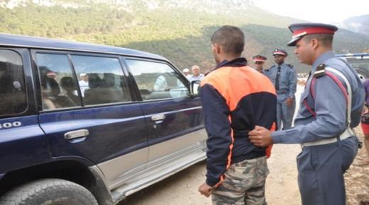 اعتقال حفار آبار بعد مطاردة في اشتوكة