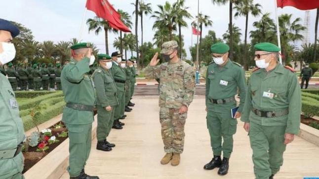 """الجنرال دوكوردارمي """" فاروق أوبلخير """" يحل بأكادير"""