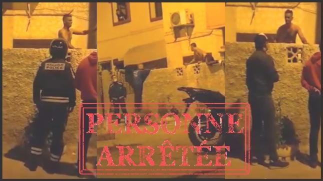 أكادير : تدخل أمني سريع لتوقيف مجرم عربد بالشارع العام وعرض حياة رجال الشرطة للخطر
