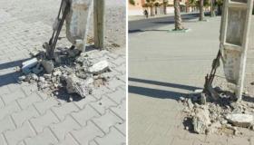 عمود كهربائي يهدد صحة وسلامة المواطنين في بيوكرى