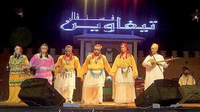 """مهرجان """" تيفاوين """" احتفاء بفنون القرية بتافراوت"""