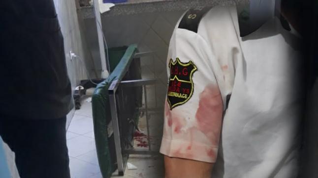"""شخص """" مقرقب """" يعربد على موظفين بمستشفى إنزكان."""
