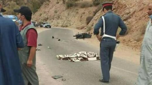 """وفاة شاب في حادثة سير ب """" تركا نتوشكا """" بآشتوكة آيت باها"""