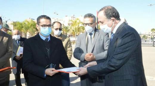 المجلس الإقليمي يسلم سيارات ودراجات لشرطة تزنيت