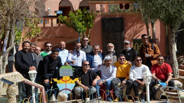 """إيمدوكال """" اصدقاء """" عموري مبارك يخلدون الذكرى السادسة لرحيله في ليلة عيد الحب بتافراوت"""
