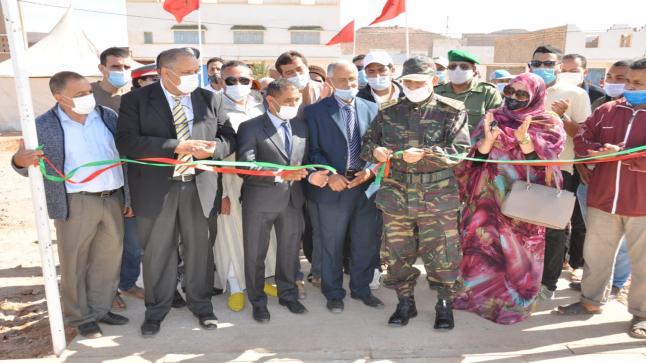 سيدي إفني: عامل الإقليم يشرف على تدشين وإعطاء الانطلاقة لعدد من المشاريع التنموية بمناسبة ذكرى المسيرة الخضراء
