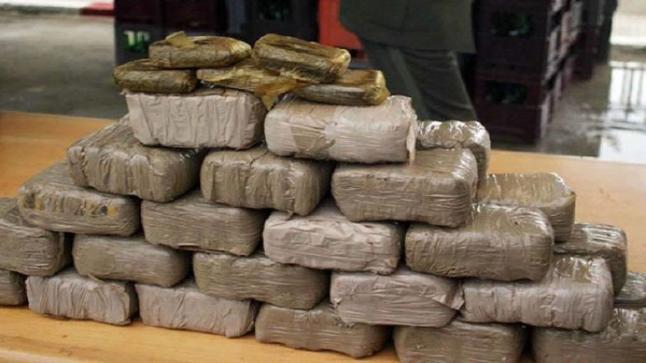 فرقة مكافحة العصابات تحجز ما يقارب من 6 اطنان من المخدرات