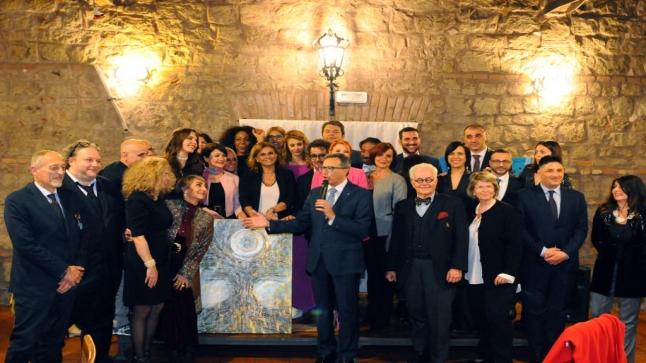 اللقاء الدولي لسفراء السلام بمركز ابن رشد بإيطاليا