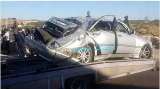 حادثة سير خطير بجبال جماعة سيدي البوشواري