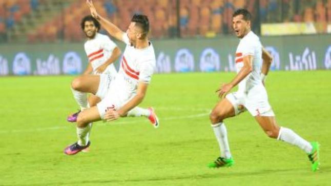 الزمالك المصري يبعد الرجاء الرياضي من دوري أبطال إفريقيا