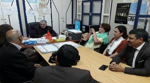 وفد إسباني يزور مؤسسة تعليمية في آيت ملول