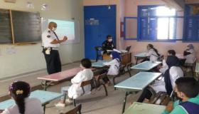 حملة أمنية تحسيسة بالوسط المدرسي في تزنيت