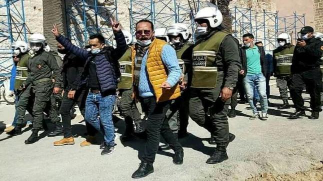 السلطات تفض مسيرة الأساتذة أطر الأكاديمية بالصويرة
