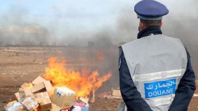 الدار البيضاء.. إتلاف محجوزات من المخدرات والمواد المهربة