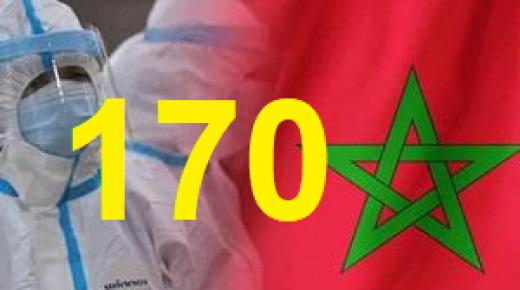 كورونا – المغرب : 170 حصيلة اليوم في الاصابات المؤكدة وتسجيل 6 وفيات