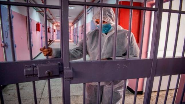 عدم تسجيل أية إصابة جديدة بفيروس كورونا في 75 مؤسسة سجنية من أصل 76