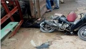"""شاحنة """" صوندا """" تقتل دراجا ناحية سيدي بيبي"""