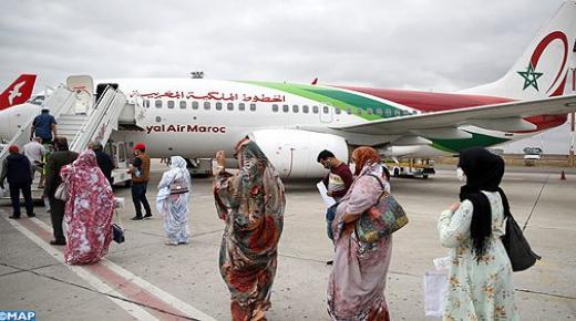 الخطوط الملكية المغربية تعزز رحلاتها على خطي الدار البيضاء-الداخلة والدار البيضاء-العيون بسبب الطلب القوي على الرحلات الداخلية